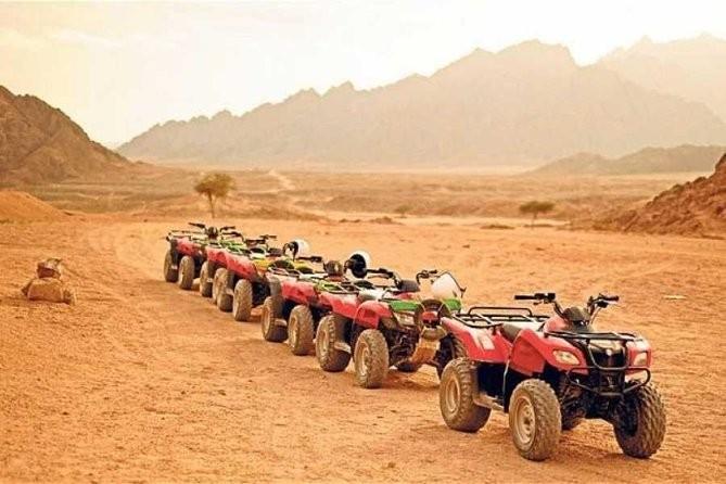 ATV Quad Bike around Giza Pyramids