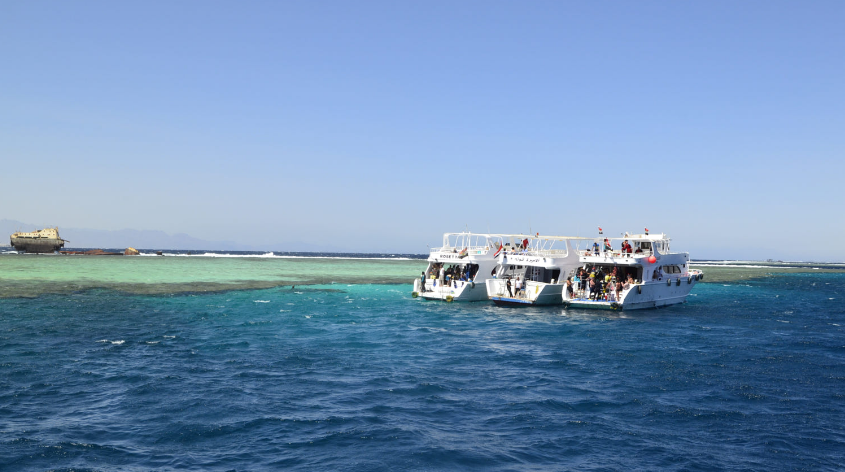 Glass Bottom Boat from Sharm