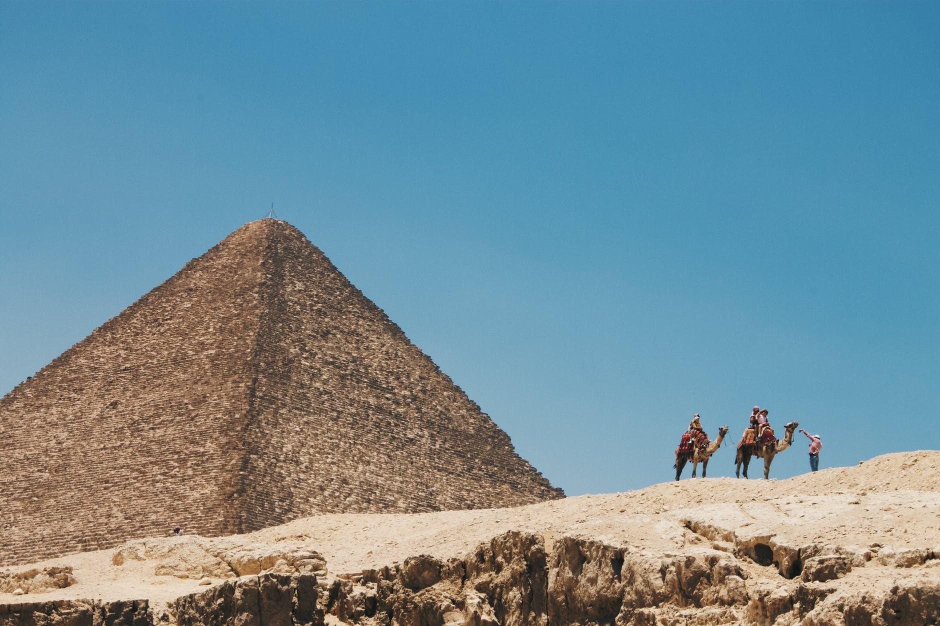 Day tour to Giza Pyramids,Sphinx, Memphis ,Saqqara Step Pyramid, Tombs of Nobles and Dahshour Red &Bent Pyramids