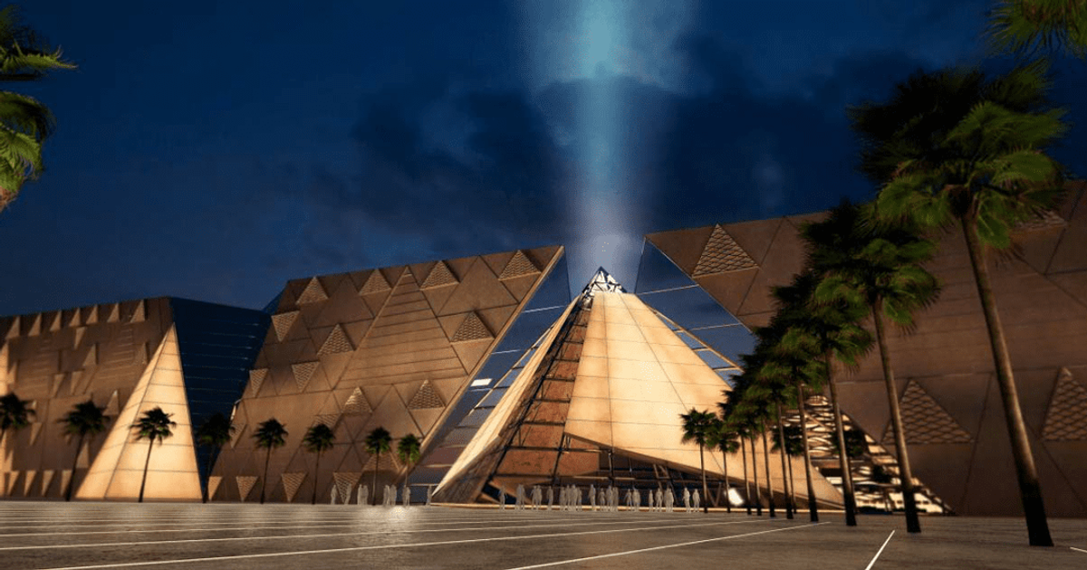 The New Egyptian Museum